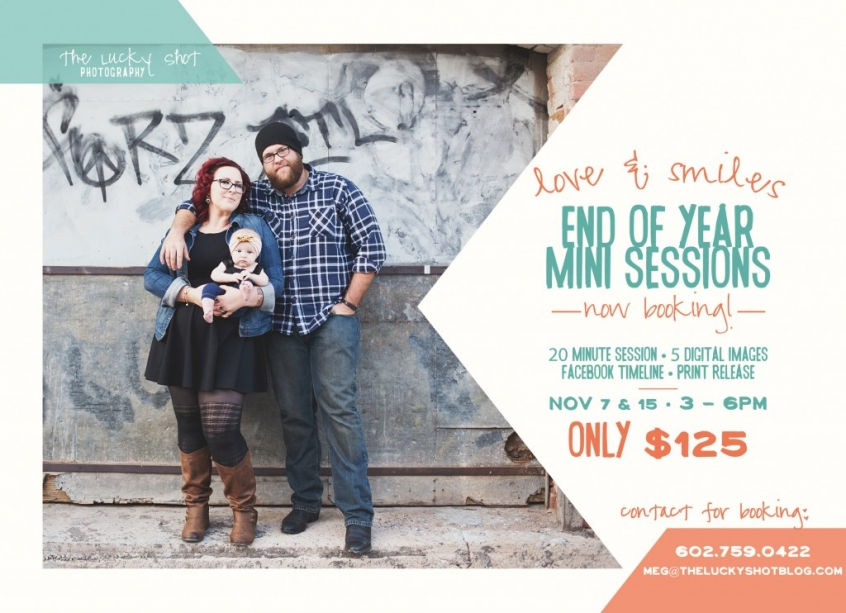 End of Year Mini Sessions